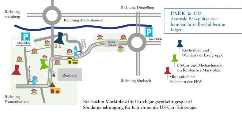 Parkplatz in Reisbach